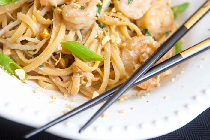 better than takeout make your own shrimp pad thai