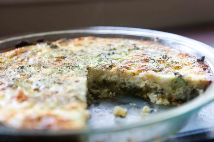 mashed potato veggie quiche