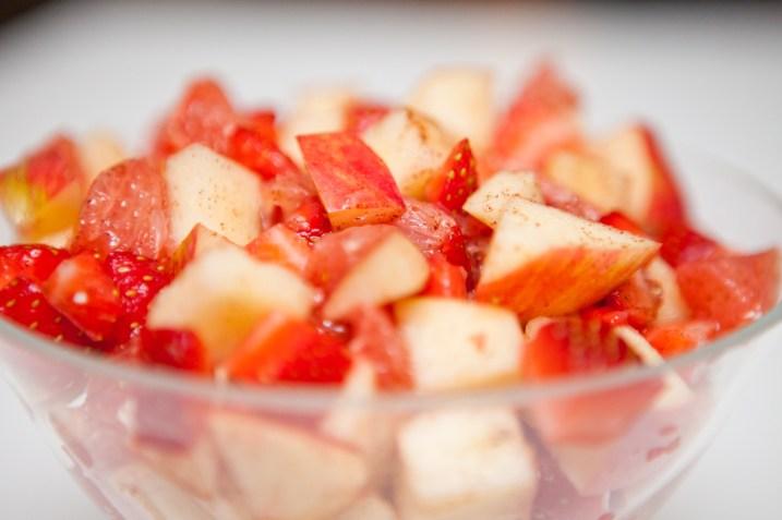 Fruit Salad with Cinnamon
