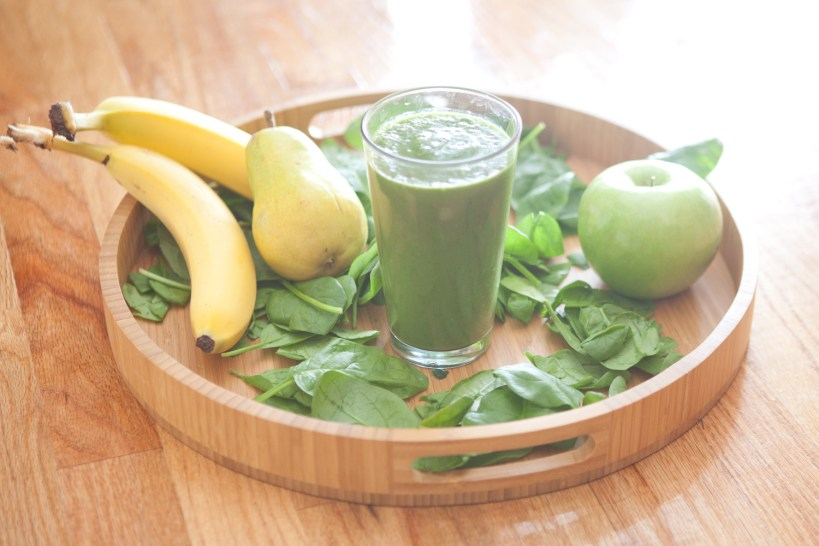 fruit green breakfast smoothie
