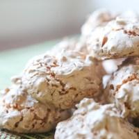 Macaroon Meringue Cookies
