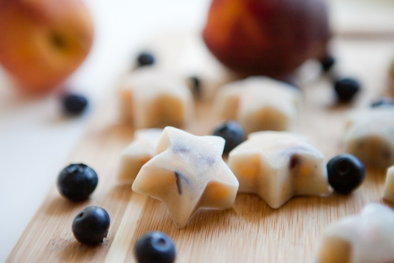 Frozen Coconut Peach Blueberry Pops - teacher-chef-5265