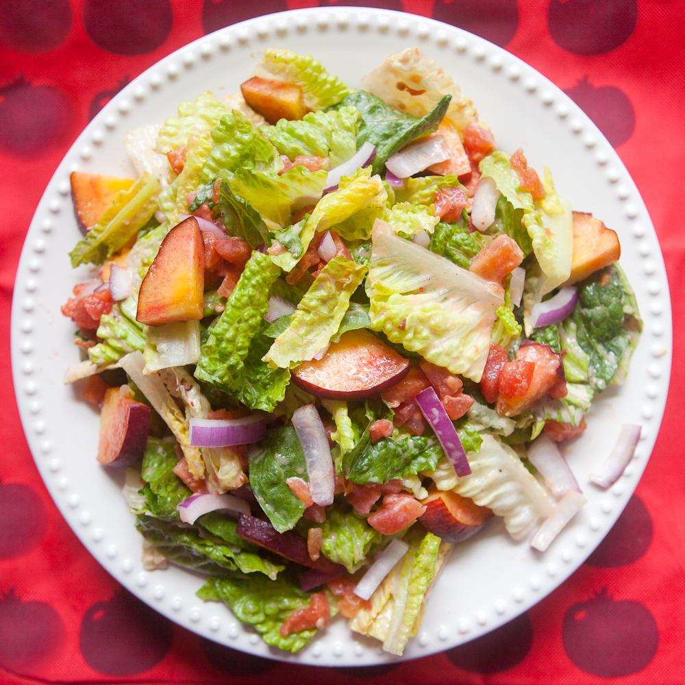 RedPack Tomato Peach Chipotle Salad - teacher-chef-5207