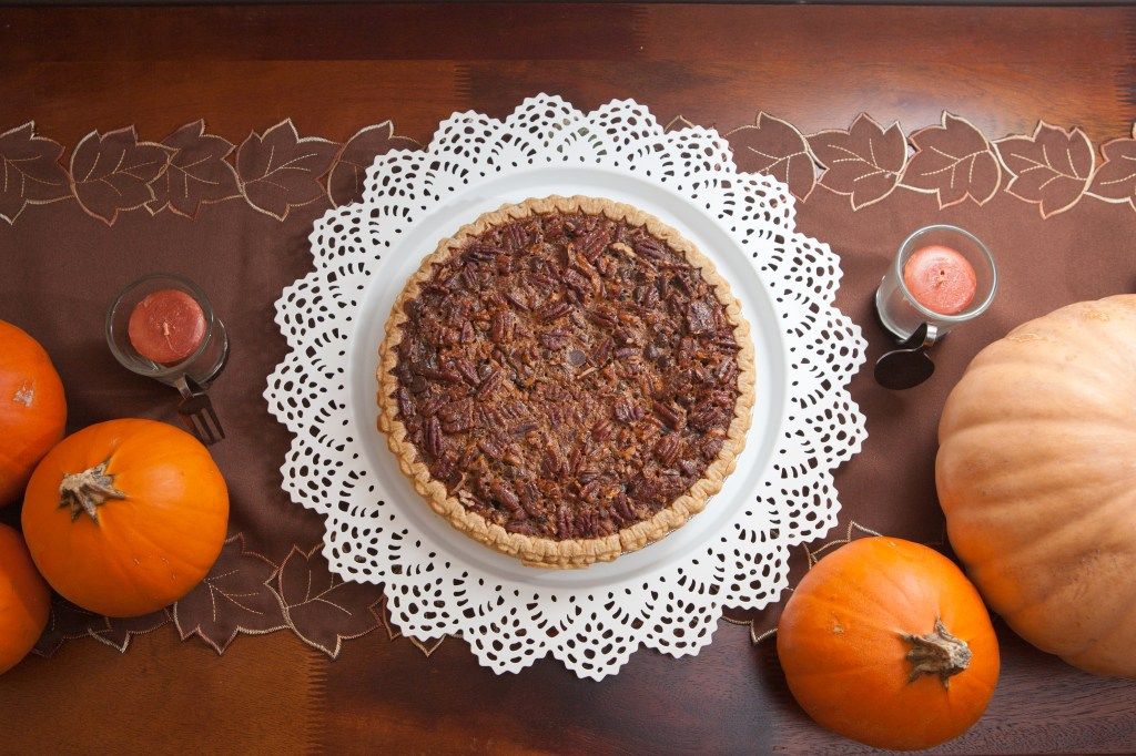 Chocolate Pecan Pie | teacher-chef.com 2014