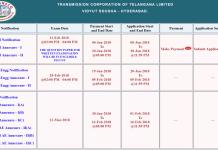 TS Transco Assistant Engineer Electrical, Civil Telecom Posts Application @ tstransco.cgg.gov.in