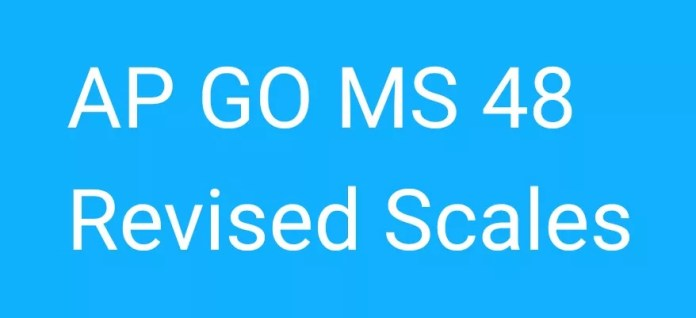 AP GO MS 48 Revised Scales of Pay 2015 House Rent Allowance - Orders