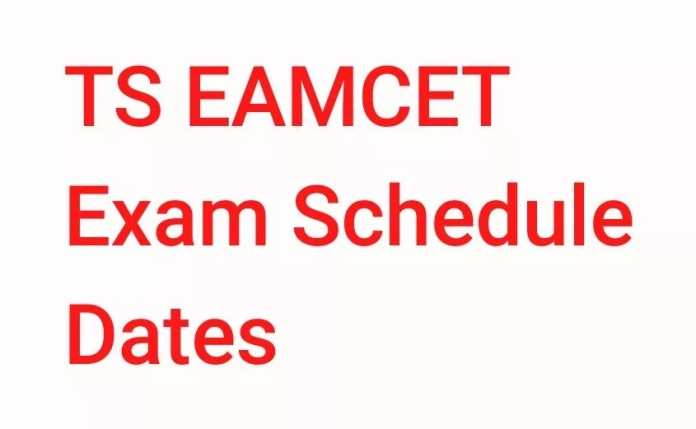 TS EAMCET 2018 TS EAMCET 2018 Exam Schedule Dates