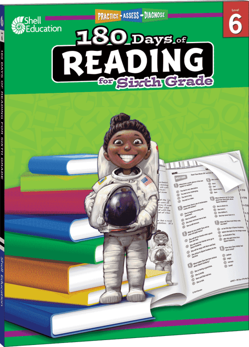small resolution of 180 Days of Reading for Sixth Grade   Teacher Created Materials