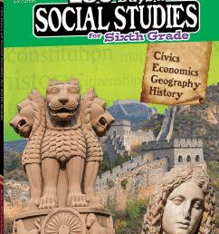 180 Days of Social Studies for Sixth Grade   Teacher Created Materials [ 1200 x 863 Pixel ]