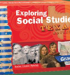 Exploring Social Studies: Texas Edition Grade 5 Bundle   Teacher Created  Materials [ 832 x 1200 Pixel ]