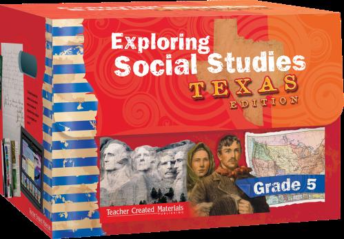 small resolution of Exploring Social Studies: Texas Edition Grade 5 Bundle   Teacher Created  Materials