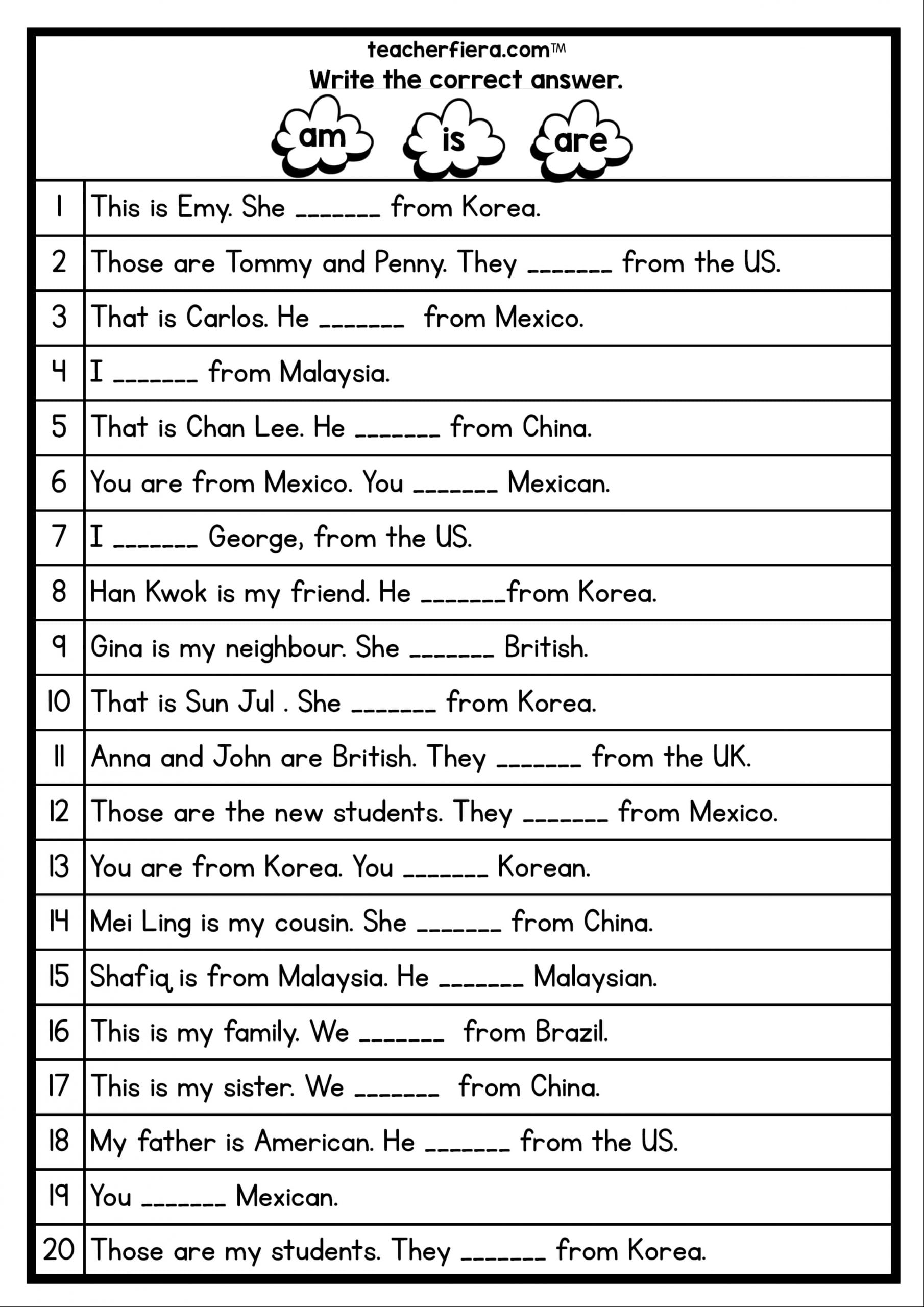 Year 3 English Worksheet Malta Printable Worksheets And Activities For Teachers Parents Tutors And Homeschool Families