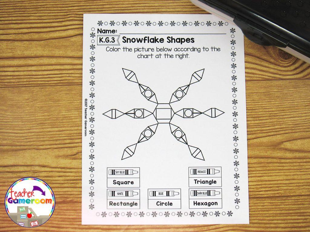 Kindergarten Winter Math Packet 26