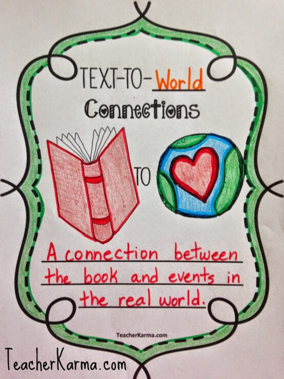 Improve Student S Comprehension Text Connections And Freebie