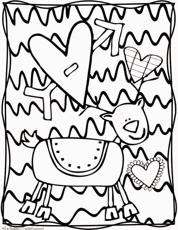 - FREE: Christmas Doodle Coloring Pages — Teacher KARMA