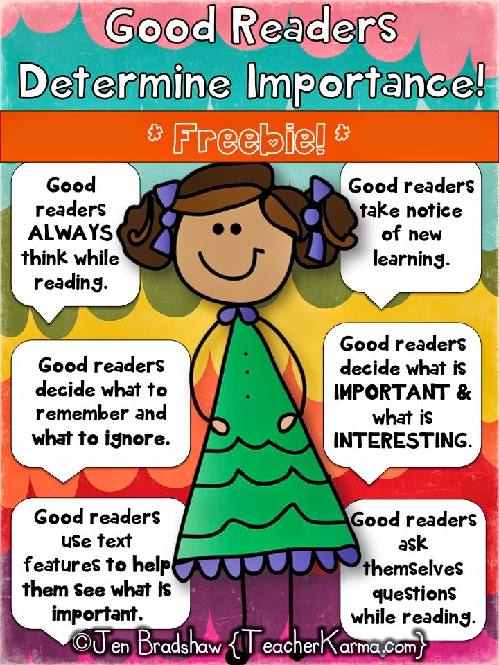Mini Lessons For Teaching Determining Importance Simple