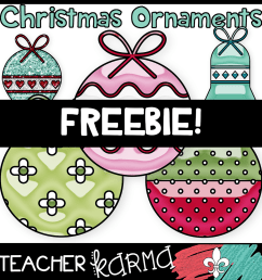 free christmas ornaments clipart christmas clipart [ 1000 x 1000 Pixel ]