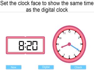 Time Digital To Analogue – TeacherLED