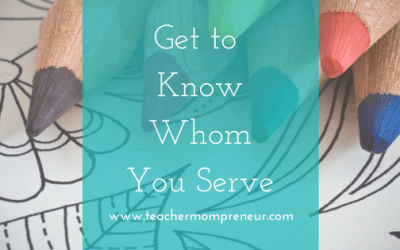 Get to Know Whom You Serve