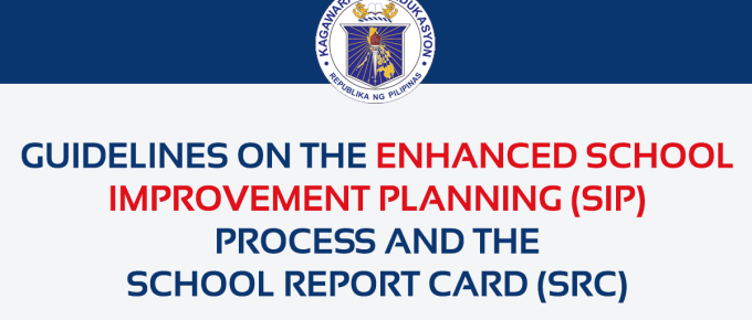 2019 DepEd School Improvement Plan (SIP)