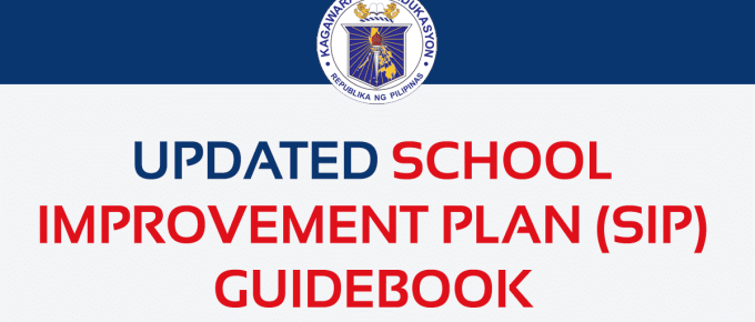 Updated School Improvement Plan (SIP) Guidebook