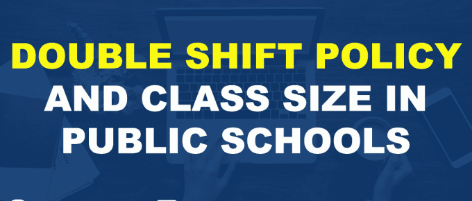 DEPED DOUBLE SHIFT POLICY AND CLASS SIZE IN PUBLIC SCHOOLS