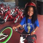 Student Advocate gets each student a new bike.