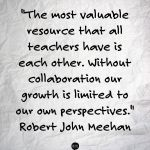 collaborate with special education teachers