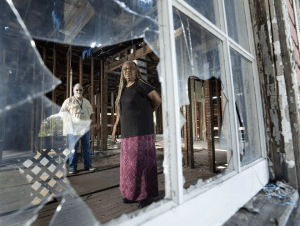 Restoring Ella Jordan house