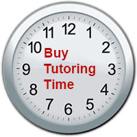 Buy time with a tutor