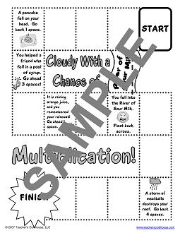 Emergency Sub Activities from Teacher's Clubhouse