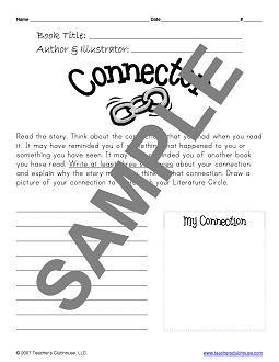 Literature Circles Resources from Teacher's Clubhouse