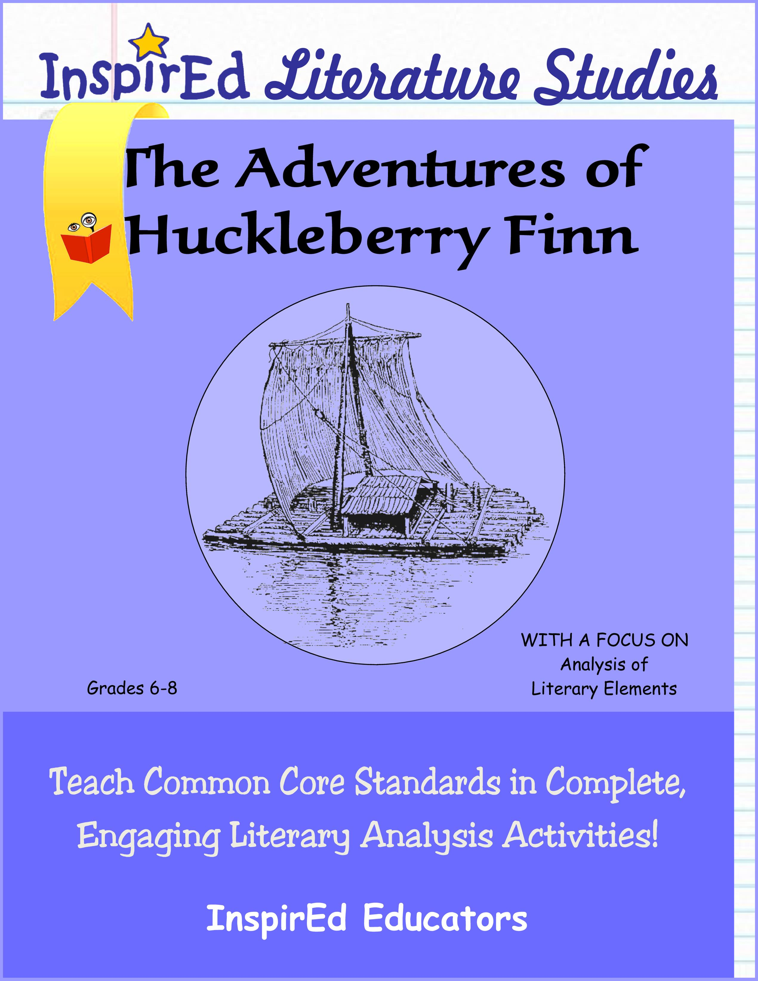 The Adventures Of Huckleberry Finn Literature Book