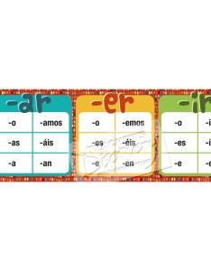 Regular spanish verb endings poster also teacher   discovery rh teachersdiscovery