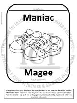 Maniac Magee Bundle of Activities