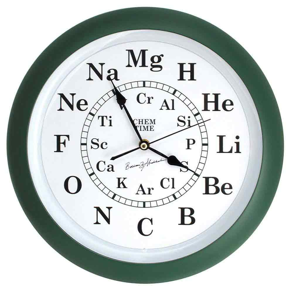 hight resolution of chem time clock