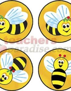Superspots stickers bees buzz pk also bee theme teachersparadise rh