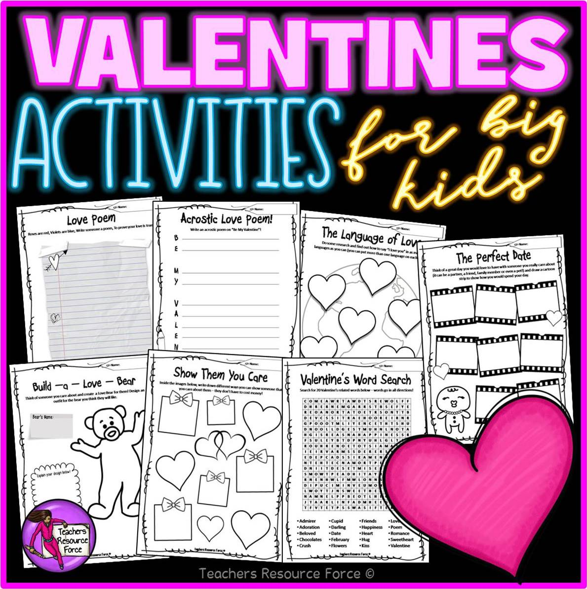 Valentine S Activities For Teens