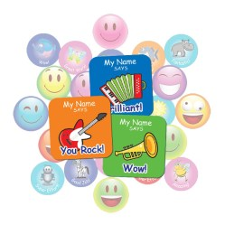Music Square Sticker Gift Pack