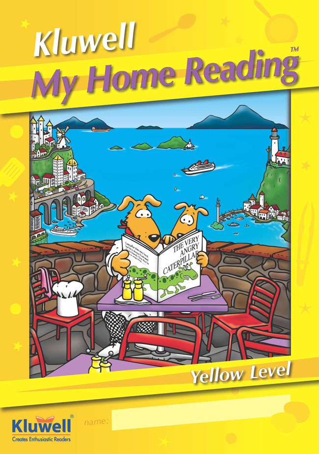 Kluwell My Home Reading Journal Yellow Kluwell