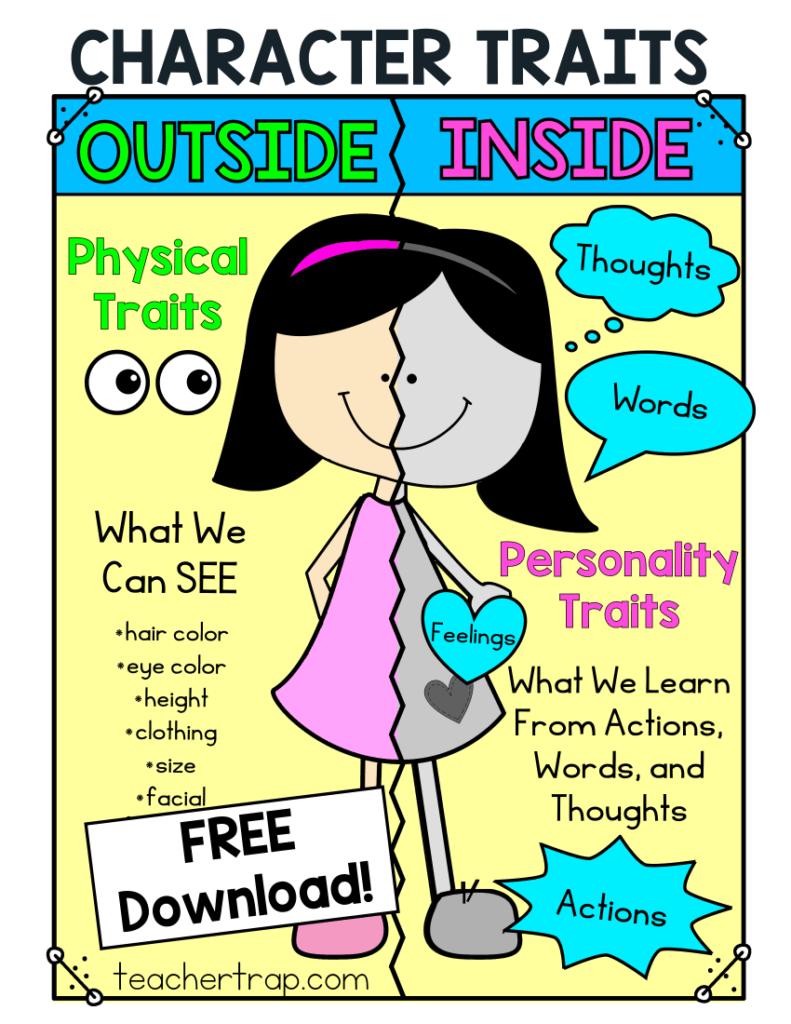 hight resolution of 3 Secrets for Teaching Character Traits – Teacher Trap