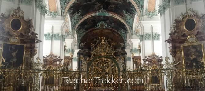 St. Gallen, Switzerland – Abbey at Saint Gall – UNESCO Site