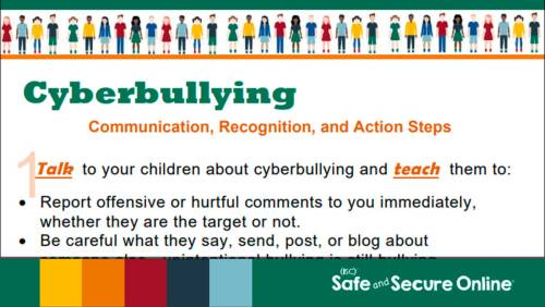 small resolution of Cyberbullying: Communication