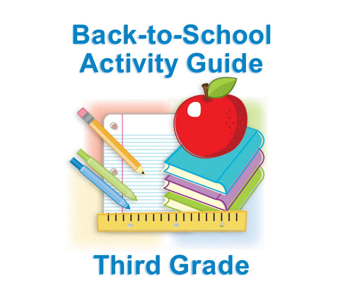 Second Grade Summer Learning For Back To School