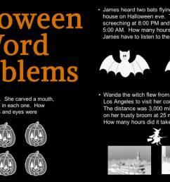 Creating Halloween Word Problems (Halloween Printable) - TeacherVision [ 678 x 1200 Pixel ]