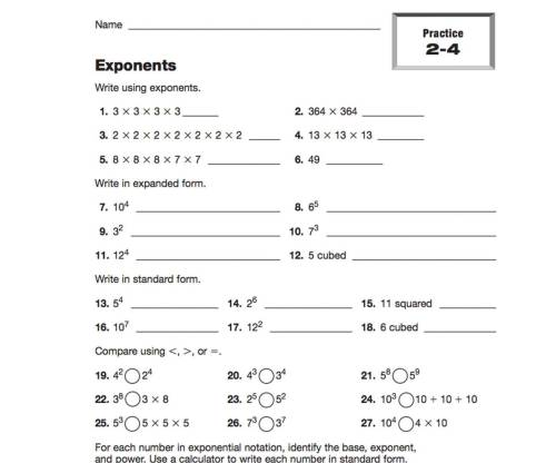 small resolution of Expressions and Exponents Resources   TeacherVision
