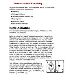 Home Activities: Probability - TeacherVision [ 1000 x 1200 Pixel ]