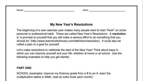 small resolution of My New Year's Resolutions (3-6)   Goal-Setting Activity   Holiday Printable  - TeacherVision
