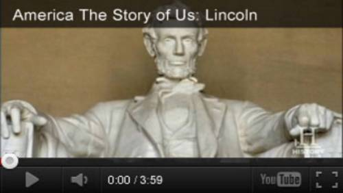 small resolution of Abraham Lincoln Videos \u0026 Activities for Presidents' Day - TeacherVision