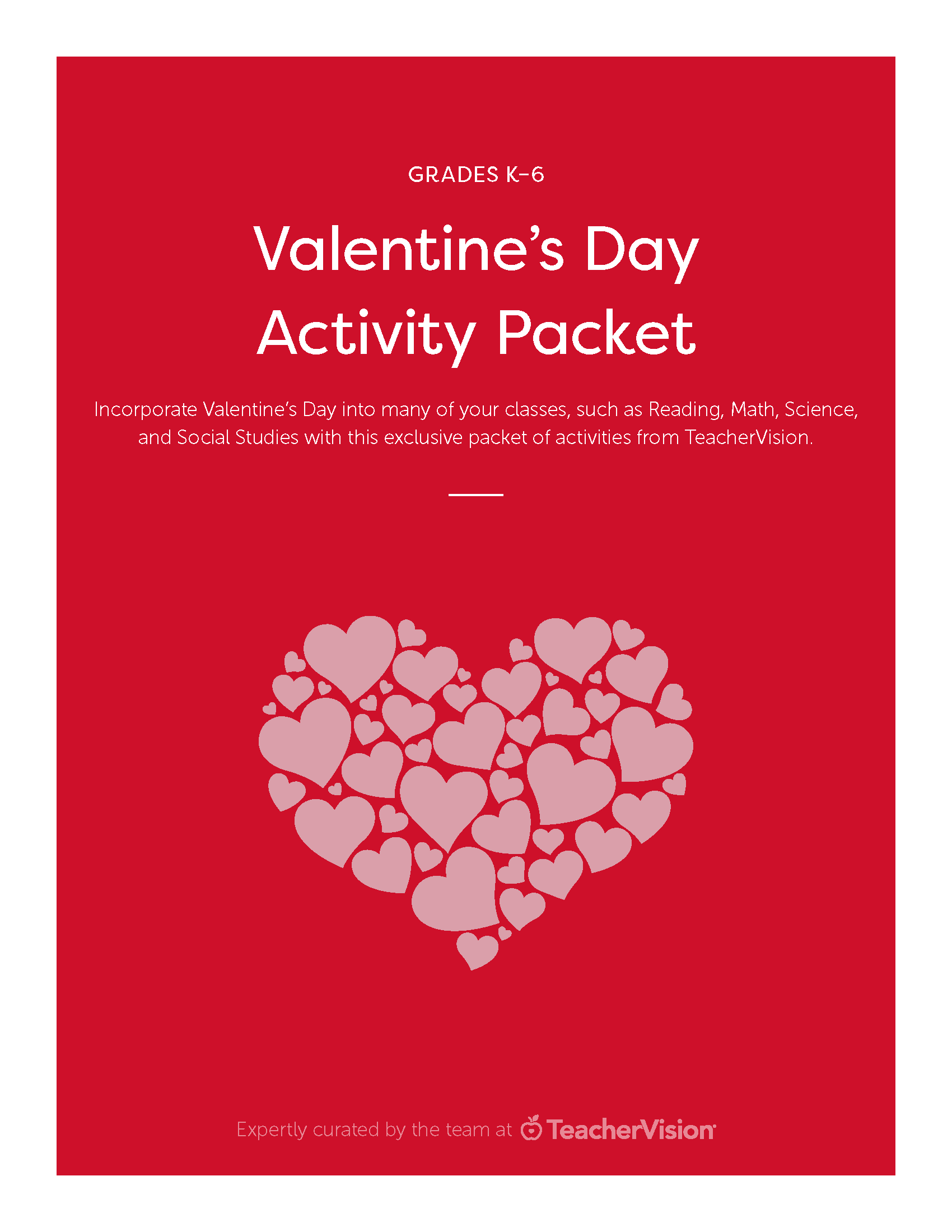 hight resolution of Valentine's Day Activities Packet - TeacherVision